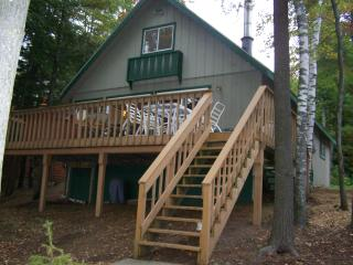 Sunset Beach Lakefront Chalet w/OUTDOOR HOT TUB! - Gaylord vacation rentals