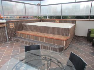 PH 3 Bedroom AC Giant HoT TuB 5 blocks Lleras Roof - Medellin vacation rentals