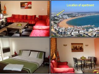 Nice apartment in AGADIR-CENTER near beach + Wifi - Agadir vacation rentals