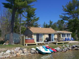 Sunrise Sunsation on Mullett w/OUTDOOR HOT TUB! - Topinabee vacation rentals