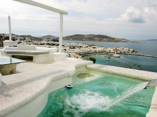 Blue Villas | Emerald | Walking Distance to Town - Mykonos Town vacation rentals
