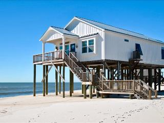 Key West-style 3 Bedroom Beach Cottage on Dauphin Island's Gulf of Mexico Beach - Dauphin Island vacation rentals