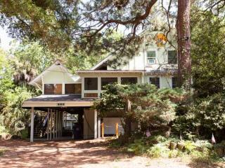 4 Blocks to The Beach! Legendary Shell Station House - Folly Beach vacation rentals