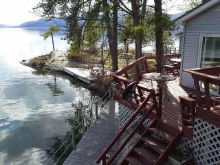 Lake George private waterfront - Lake George vacation rentals
