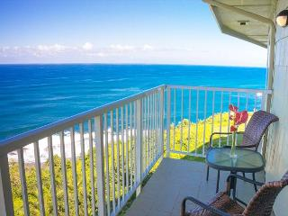 Alii Kai 5301: Gorgeous remodeled top floor corner, 2br/2ba, oceanfront view! - Princeville vacation rentals