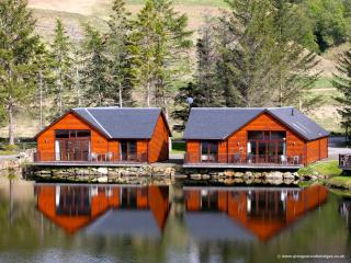 """Glengoulandie Lodges - On The Waterfront"" - Aberfeldy vacation rentals"