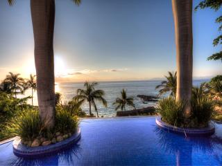 Steps to the white sandy beach of Conchas Chinas, near downtown Puerto Vallarta - Puerto Vallarta vacation rentals