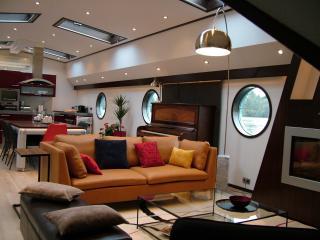 Seine LOFT BOAT, péniche de luxe à 20 mn de Paris - La Frette sur Seine vacation rentals