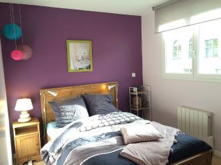 Chambre et sdb cosy Neuville sur Saône au sein - Neuville-sur-Saone vacation rentals