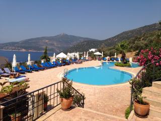 Luxury apartment, Saneil, Fab sea views, 25m pool - Kalkan vacation rentals