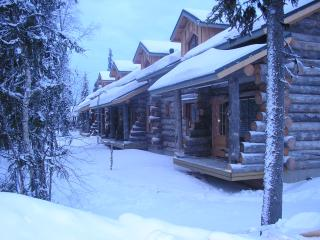 Traditional Ski Cabin in lovely forest setting - Akaslompolo vacation rentals