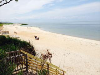 Beach Front with Private Beach Access at just 25 ft! - Brewster vacation rentals