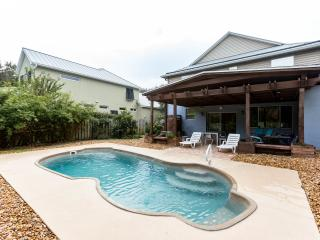 Contemporary newer house with salt water heated po - Saint Augustine Beach vacation rentals