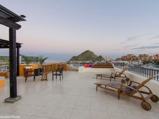 Penthouse top of Tesoro. Marina View Private Patio - Cabo San Lucas vacation rentals