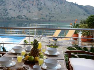 Villa Bluefairy with Panoramic Lake View! - Kournas vacation rentals