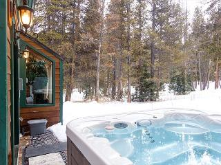 2BR Wooded Mountain Home with Private Hot Tub! - Breckenridge vacation rentals