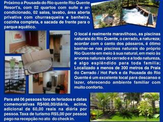 Thermas Paradise Residence Service - Rio Quente vacation rentals