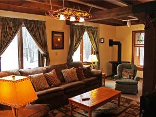 Located at Base of Powderhorn Mtn in the Western Upper Peninsula, A Wonderful Home with Unique Envelope Architecture & Outdoor Hot Tub - Bessemer vacation rentals