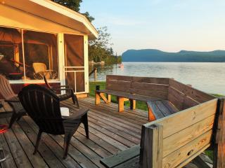 Simply Spectacular Lakefront Cottage on Willoughby - Westmore vacation rentals