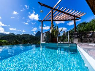 BEST VALUE IN ST. LUCIA! $1M VIEWS; GREAT LOCATI - Soufriere vacation rentals