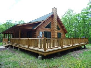 Stunning Log Home Vacation Rental in Albrightsville - Albrightsville vacation rentals