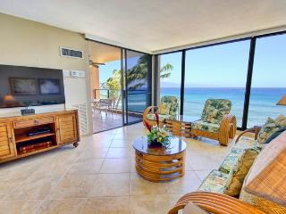 Mahana 507 Remodeled Oceantfront Amazing Views - Lahaina vacation rentals