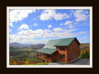 Heaven's View } Jaw Dropping Views of the Smoky's - Pigeon Forge vacation rentals