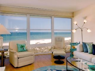 Gulf View: 2BR Beachfront Condo with Amazing View - Holmes Beach vacation rentals