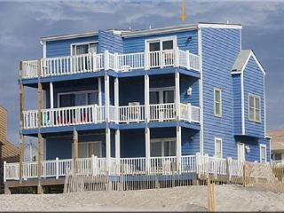 Blue House -True Oceanfront, Unobstructed View. - North Topsail Beach vacation rentals