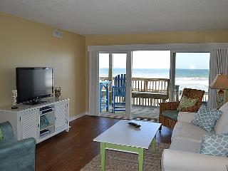 Queen's Grant E-115 - Dynamic Oceanfront View, Pool, Hot Tub, Boat Ramp & Dock - Topsail Beach vacation rentals