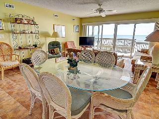 Queen's Grant B-107 - Dynamic Oceanfront View, Pool, Hot Tub, Boat Ramp & Dock - Topsail Beach vacation rentals