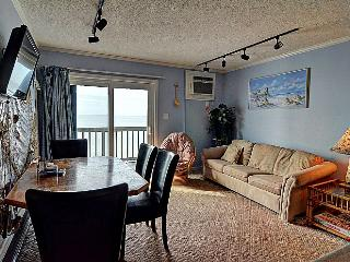Topsail Reef 255 - SUMMER SAVINGS UP TO $70! Affordable Oceanfront Condo -You won't find a condo closer to the ocean! - North Topsail Beach vacation rentals