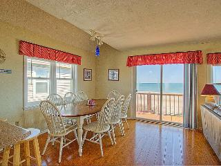 Dune Nothing - SAVE UP TO $150! Stellar Ocean View, Beachy Interior, Quiet Area, Beach Access - North Topsail Beach vacation rentals