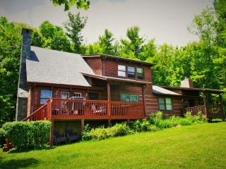 Serenity-Private with views, gameroom, fireplaces, fire pit near Boone - Fleetwood vacation rentals