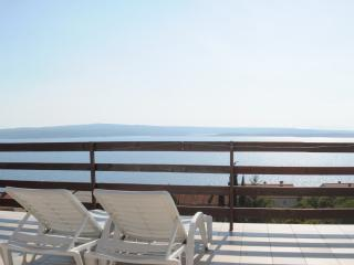 Rooftop Terrace panoramic sea view - Dramalj vacation rentals