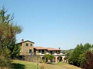 Secluded villa with private indoor and outdoor pool. Air conditioning. 20+6 sl. - Collepepe vacation rentals