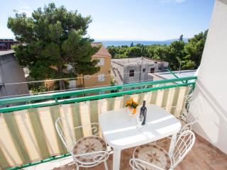 Apartment Seaview A4+3 Kids Gojak Milenka 100m sea WIFI internet parking free - Makarska vacation rentals