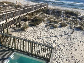 Bella Vista house, right on the Gulf, private pool - Gulf Shores vacation rentals