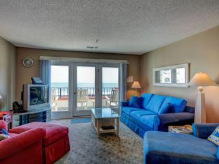 Villa Capriani 301-B Oceanfront | 3 Pools, Largest Pool on NC Coast, 2 Hot Tubs, Grill Area, Tennis Courts, Restaurant, Internet - North Topsail Beach vacation rentals