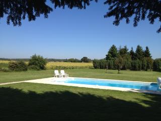 Charentaise Stone House with Own Use Private Pool - Ruffec vacation rentals