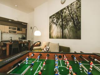 Chain Bridge Design FOOSBALL FLAT, Huge 2 BedRooms - Budapest vacation rentals