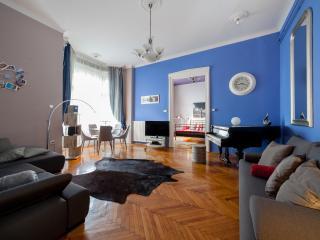 Elegant Promenade Sunny Terrace: CLASSY PIANO HOME - Budapest vacation rentals