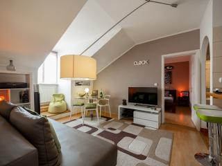 Rooftop Design HIGH-TECH LOFT, 2 B-R,  Great View! - Budapest vacation rentals