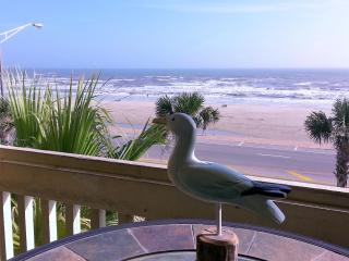 BEACH VIEW;OCEAN VIEW; HOT SPA! 2 POOLS! BEAUTIFUL - Galveston Island vacation rentals