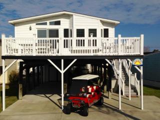 Autism-friendly town, DOGS OK, Linens, Golf Cart - Surfside Beach vacation rentals