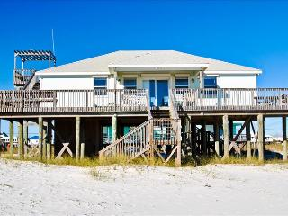 Sand Bar -Spacious 3 bedroom Gulf of Mexico beach house with great Gulf-side location, Crow's Nest! - Dauphin Island vacation rentals