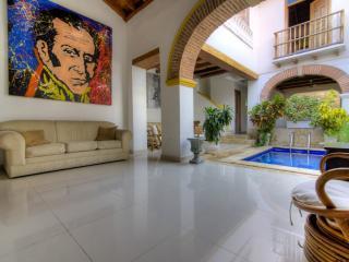 Radiant 3 Bedroom Home in Old Town - Cartagena vacation rentals