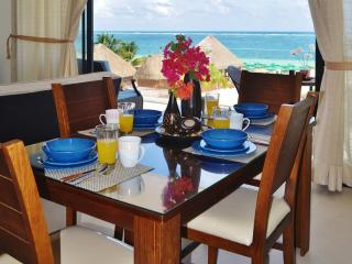Condo Del Mar #2 - 2 Bedroom New Ocean Front Condo - Puerto Morelos vacation rentals