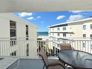 2BR with great Gulf beach balcony view #510GV - Sarasota vacation rentals