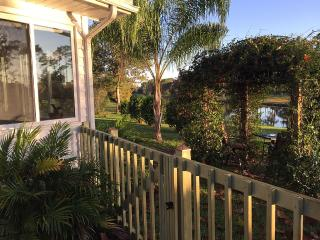 Peaceful  Lake Home In St Augustine..Pet Friendly - Saint Augustine vacation rentals